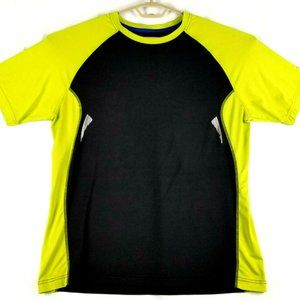 Avia Mens Performance Stretchy SS T-shirt - Black